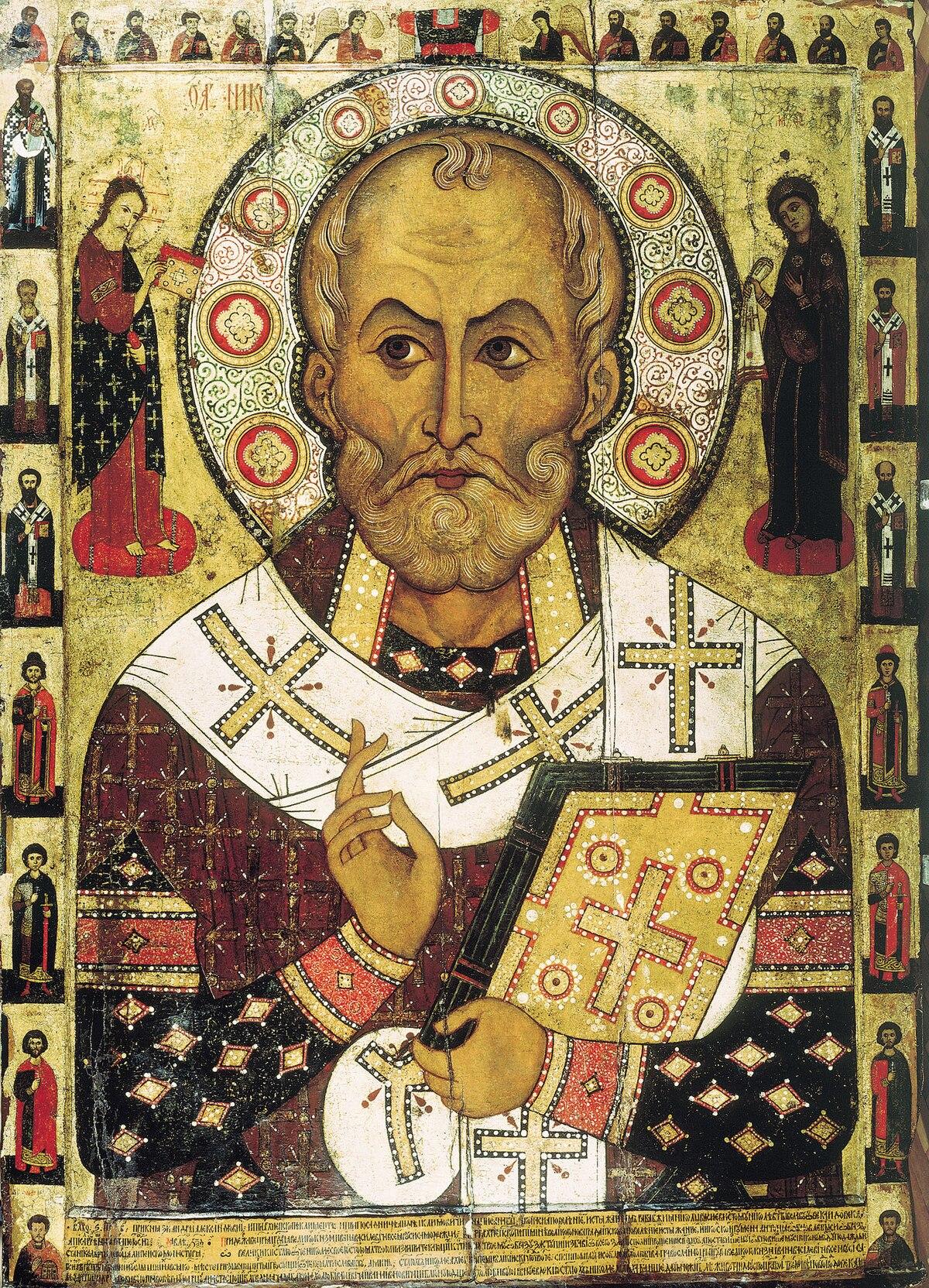 """Алекса Петров. """"Микола Липний"""".1294 р."""