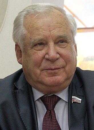 Nikolai Ryzhkov - Nikolai Ryzhkov on 27 November 2009