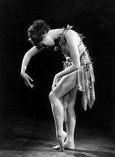 Nini Theilade Danish ballet dancer