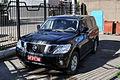 Nissan Patrol. Mongolian diplomatic licence plate ДК 01 88.jpg