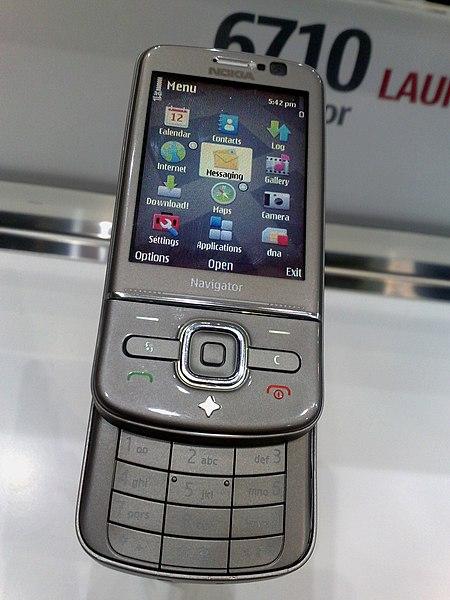 Nokia 6710 Navigator (open) (3284598189).jpg