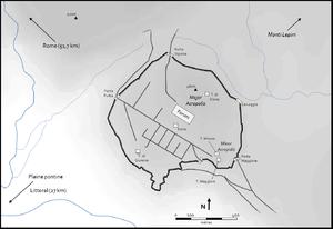 Norba - Map of Norba