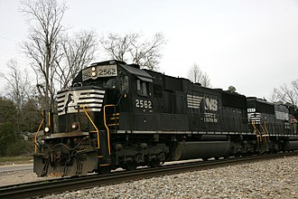 EMD SD70 series - Norfolk Southern Railway SD70 Number 2562