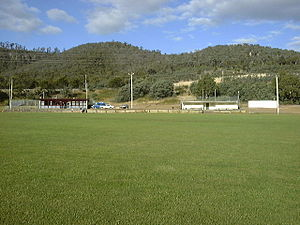 Warrane, Tasmania - North Warrane Oval with the Meehan Ranges in the background