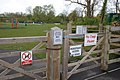 Notices at Fordingbridge recreation ground - geograph.org.uk - 775627.jpg