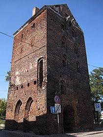Nowe Miasto Lubawskie - brama Lubawska (02).jpg