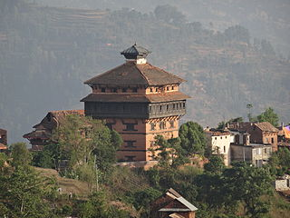 city in Bagmati Zone, Nepal