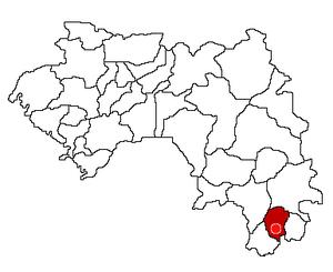 Nzérékoré Prefecture - Image: Nzérékoré Prefecture