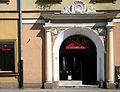 OPOLE dawna brama przejściowa w Rynku między domami 17-19. sienio.JPG