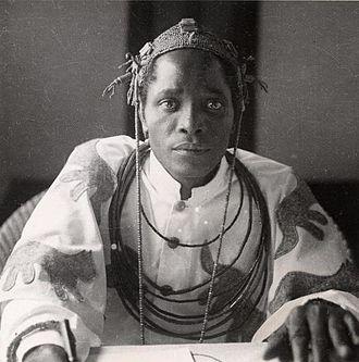 Akenzua II - Image: Oba Akenzua II, 1936 0327.0008