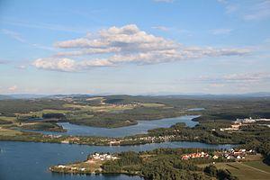 Oberpfälzer Seenland im Landkreis Schwandorf