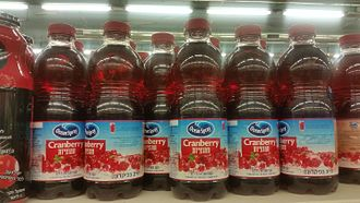 Ocean Spray (cooperative) - Ocean Spray product in Israel