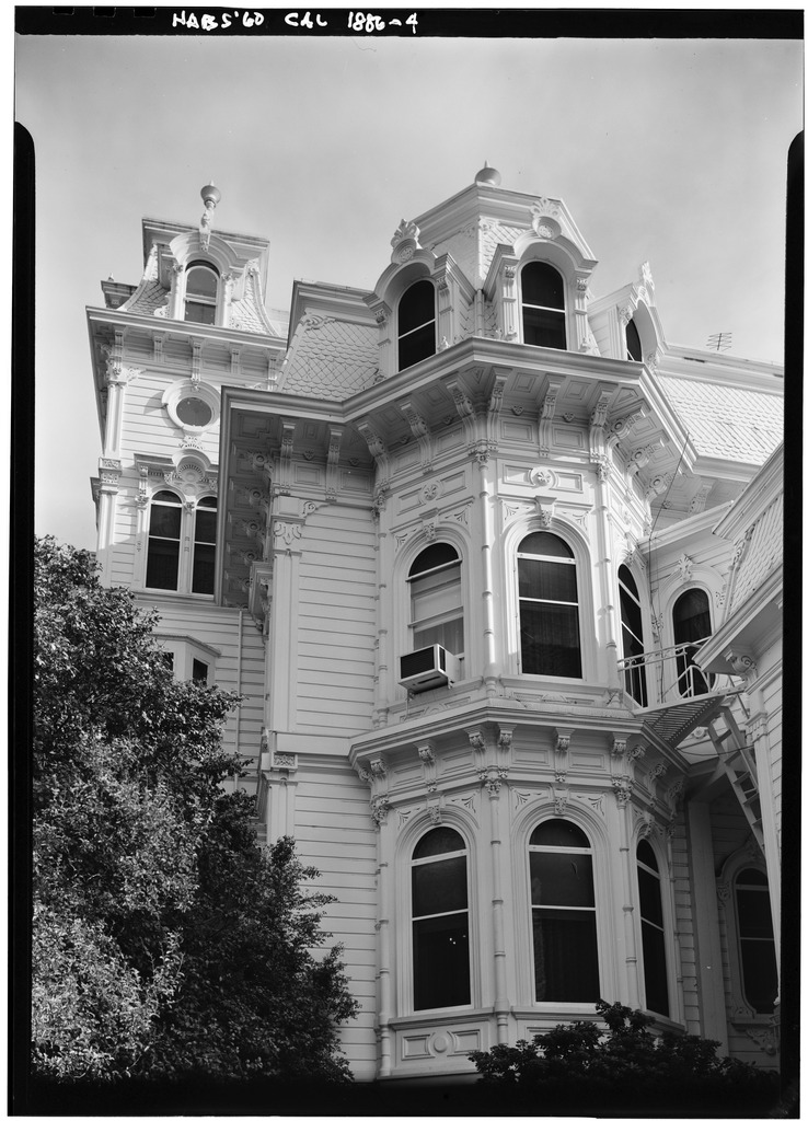 West Sacramento Ca >> File:October 1960 WEST ELEVATION - Albert Gallatin House, 1527 H Street, Sacramento, Sacramento ...