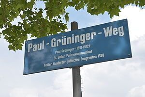 Paul Grüninger - Paul Grüninger-Weg