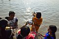 Offering to Sun God - Chhath Puja Ceremony - Ramkrishnapur Ghat - Howrah 2013-11-09 4145.JPG