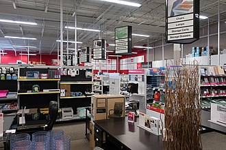 Office Depot - Office Depot interior in Gillette, Wyoming