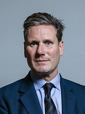 Keir Starmer - Image: Official portrait of Keir Starmer crop 2