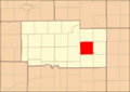 Ogle County Illinois Map Highlighting White Rock Township.png