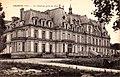 Ognon (60), façade du château sur le parc 2.jpg