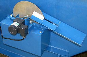 Skimmer (machine) - Smooth industrial disc oil skimmer