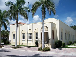 National Register of Historic Places listings in St. Lucie County, Florida - Image: Old Ft.Pierce Post Office