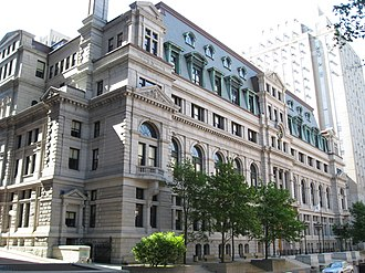Government of Massachusetts - The John Adams Courthouse, home to the Supreme Judicial Court