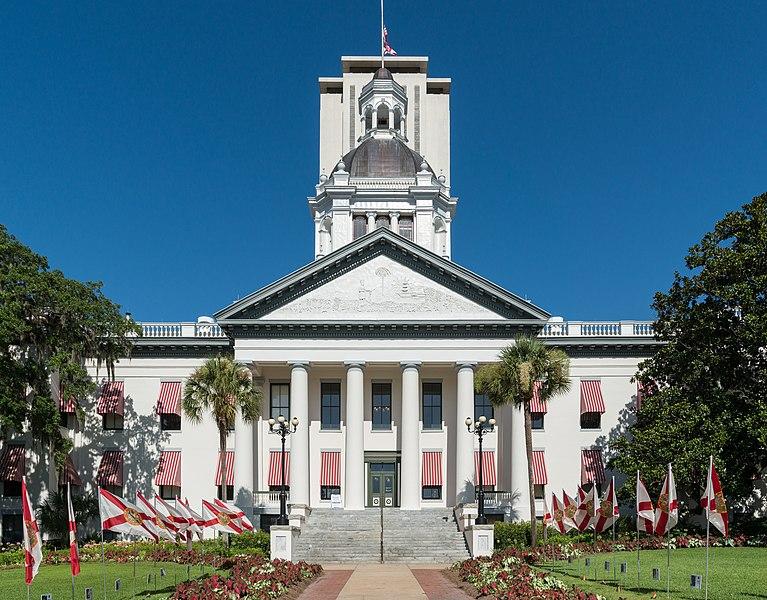 File:Old Florida State Capitol, Tallahassee, East view 20160711 1.jpg