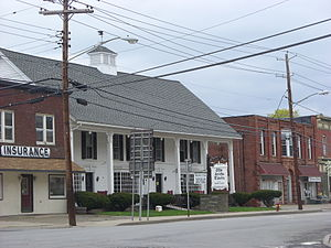 National Register of Historic Places listings in Chenango County, New York - Image: Old Jericho Tavern May 09