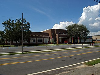 Old Pascagoula High School - Old Pascagoula High School in 2012