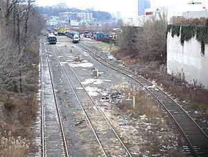 New York and Putnam Railroad - Marble Hill stub