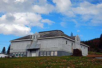 Quincy, Oregon - Old Quincy School, built in 1925