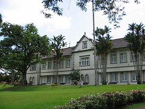 Derek Freeman - The Old Sarawak Museum in Kuching, where Freeman destroyed an Iban carved statue.