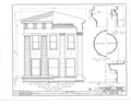 Old State House, Springfield, Sangamon County, IL HABS ILL,84-SPRIF,1- (sheet 5 of 7).png
