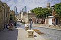 Old and new Baku.JPG