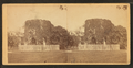 Old stone mill and the picket fence, from Robert N. Dennis collection of stereoscopic views.png