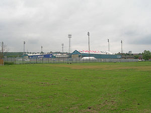 Boundary Park - Outside of the Boundary Park ground