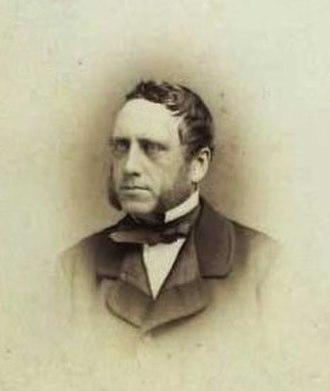 Ole Berendt Suhr (1813–1875) - Ole Bernt Suhr photographed by Georg Emil Hansen