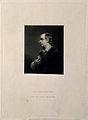 Oliver Goldsmith. Mezzotint by S. W. Reynolds after Sir J. R Wellcome V0002309.jpg