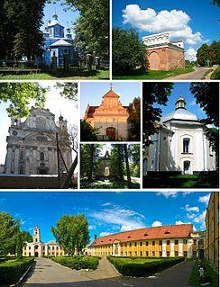 Olyka Place in Volyn Oblast, Ukraine
