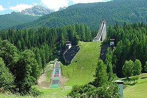 Trampolino Olimpico - Image: Olympic Ski Jumping hill Cortina