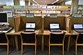 Omihachiman City Library internet corner ac.jpg