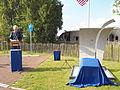 Onthulling missing man memorial Air Crash Museum 40-45 op 13 september 2014 in Rijsenhout 03.JPG