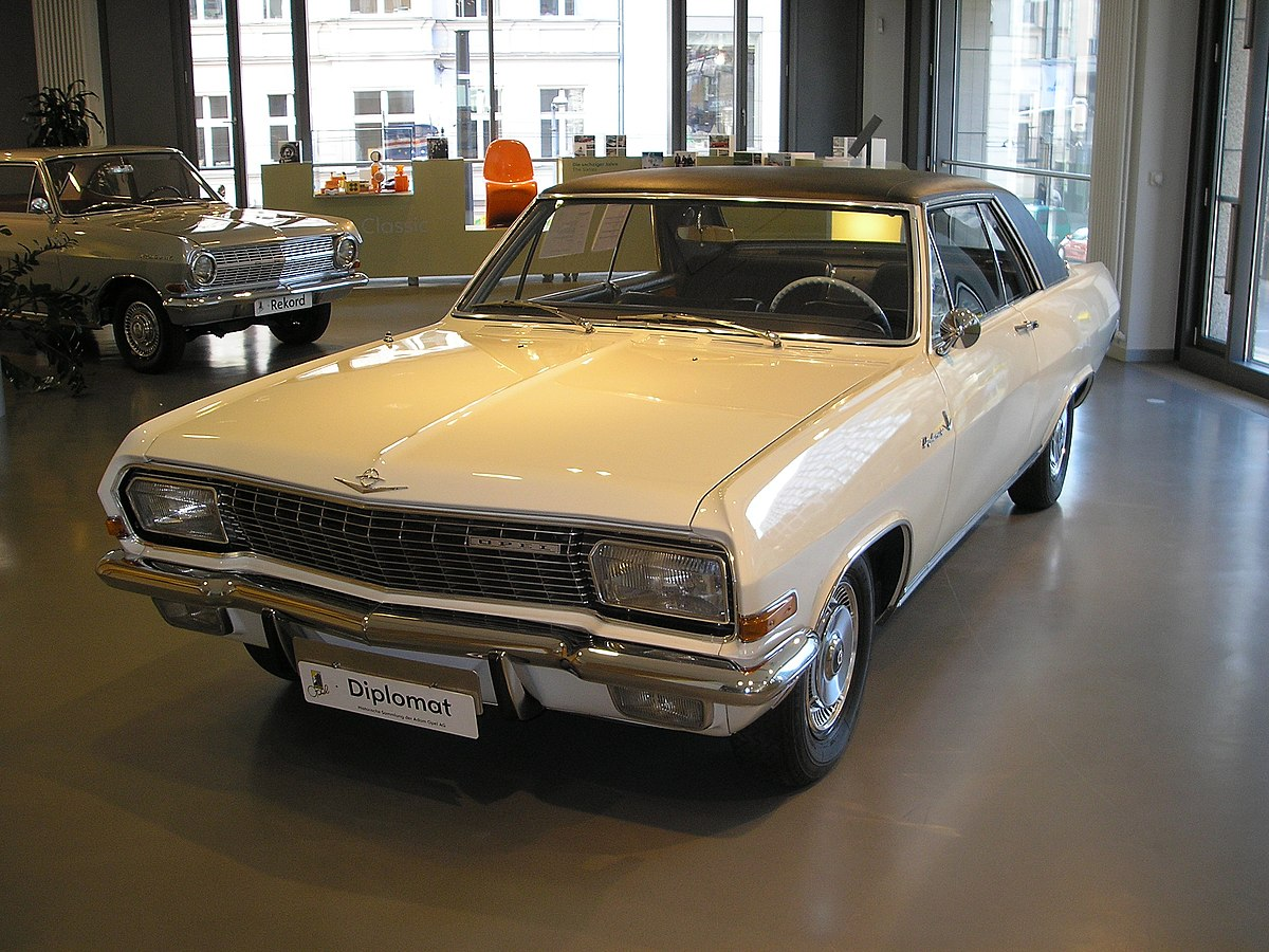 Mercedes Benz Coupe >> Opel Diplomat – Wikipedia