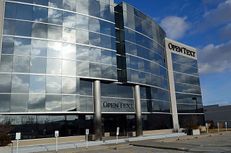 OpenText - OpenText office in Richmond Hill, Ontario