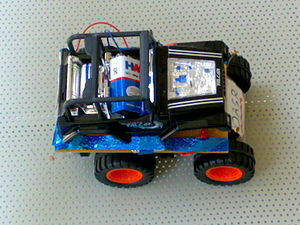 Mobile robot - Image: Optically Automated Spy Robot