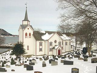 Øre Church Church in Møre og Romsdal, Norway