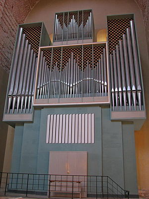 Pitsunda Cathedral - Image: Organ in Pitsunda