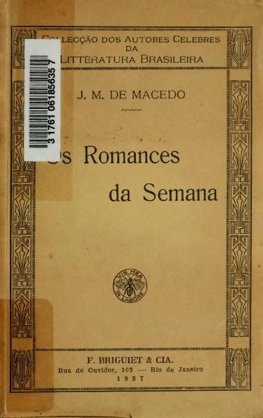File:Os romances da semana.djvu