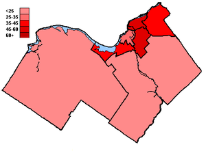 Canadian federal election results in Ottawa - Liberal Party of Canada