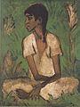 Otto Mueller - Sitzende Zigeunerin - ca1926.jpeg